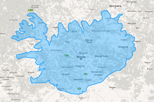 Как выглядит реальная карта мира