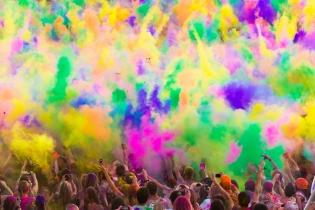 Весна в Индии: «красочный» фестиваль Холи