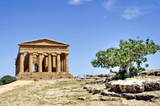 Археологические памятники в городе Агридженто