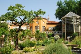 Ботанический сад в городе Падуя
