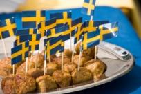 Продуктовый шопинг в Швеции