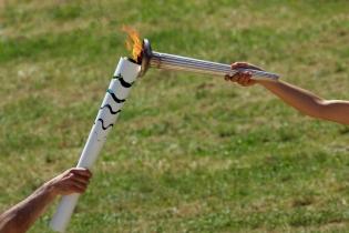 Путешествие олимпийского огня в Рио