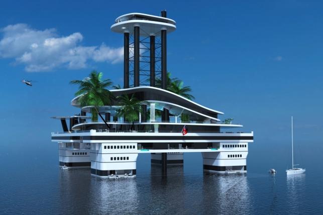 Забудь о яхте, купи мобильный остров
