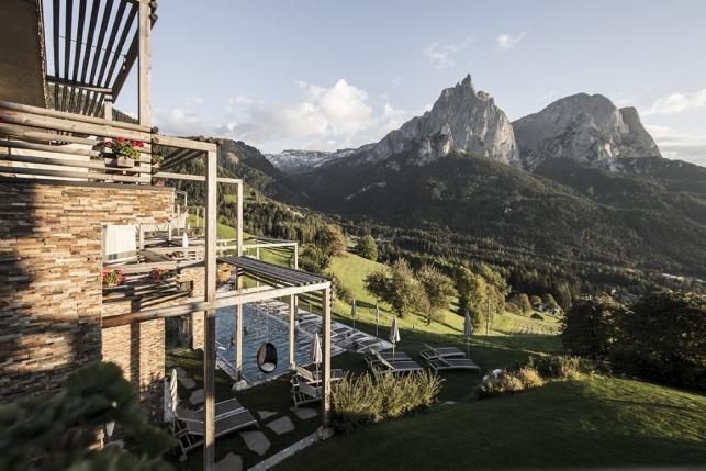 Сказочный отель в Доломитовых Альпах