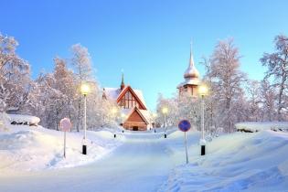 Зимняя сказка в Финляндии