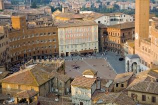 Исторический центр города Сиена