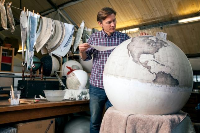 Как сделать макет глобуса