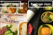 Чем отличается еда в эконом-классе от первого в разных авиакомпаниях