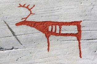 Наскальные рисунки в Альте