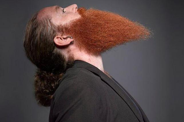 Лучшие фотографии с чемпионата усов и бороды