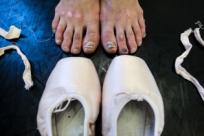 Мощные закулисные фотографии артистов русского балета