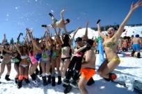 Самый веселый лыжный заезд в России