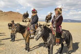 Особенности соколиной охоты вМонголии