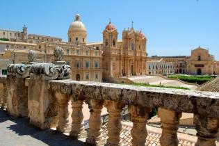 Города позднего барокко в районе Валь-ди-Ното, юго-восток острова Сицилия