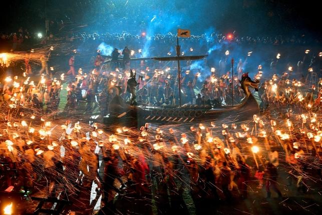 Фантаст!ческий фестиваль викингов вШотландии
