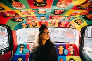 Психоделические такси Мумбая
