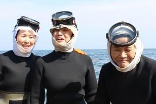 Профессия: японские ныряльщицы заустрицами