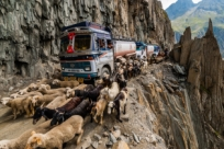 Дорога смерти в Индии